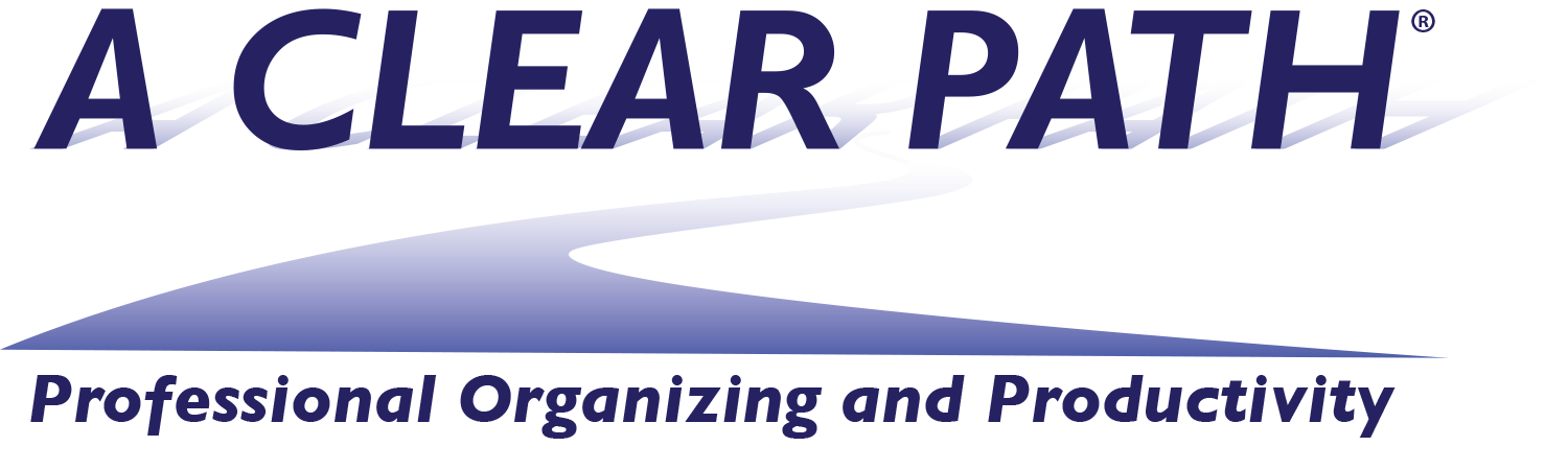 Logo of A Clear Path, Professional Organizing and Productivity